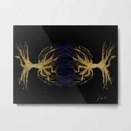 Nueronic Dendrites Metal Print