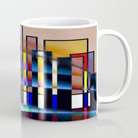 seattle Mugs featuring Seattle by Kristine Rae Hanning