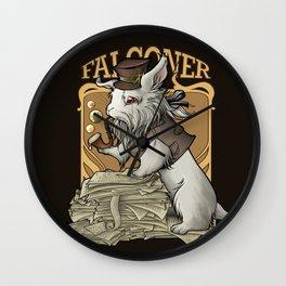 Professooor Falconer  Wall Clock
