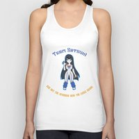 workout Tank Tops featuring Satsuki Workout by LadyInverse
