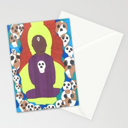Cutting through spiritual materialism Stationery Cards