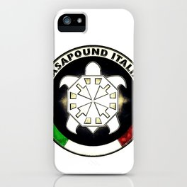 Casapound Italia iPhone Case