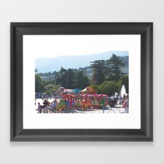 Carnival in Yalta Framed Art Print