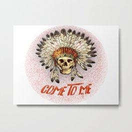 Halloween Edition: Come To Me Metal Print