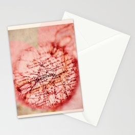 Montreal, je t'aime Stationery Cards