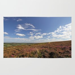 Heather in the Yorkshire Moors Rug