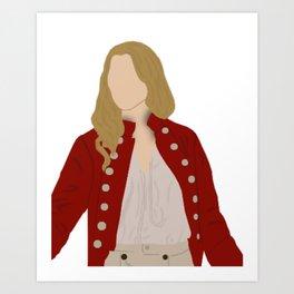 Elizabeth Swann Portrait Art Print