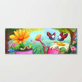 Optimistic Zoom Canvas Print
