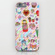 I Love Stickers iPhone 6s Slim Case