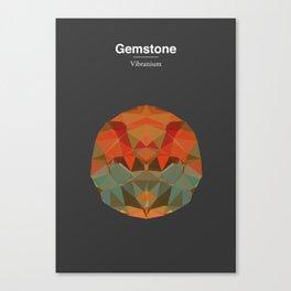 Gemstone - Vibranium Canvas Print