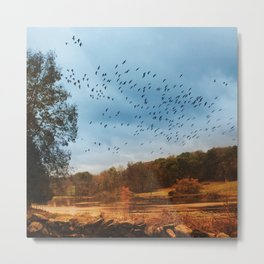 Good Migrations Metal Print