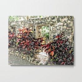 Botanical Gardens, St. Croix, U.S. Virgin Islands Metal Print