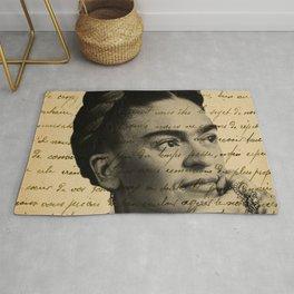 Letter Frida Kahlo Rug