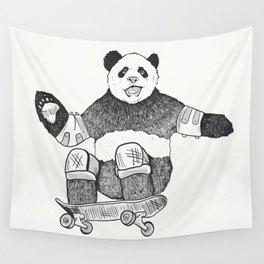 Rad Panda Wall Tapestry