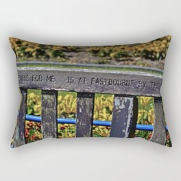 Eastbourne by the Sea Rectangular Pillow