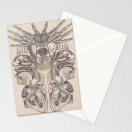 Anatomy Collage 2 Stationery Cards
