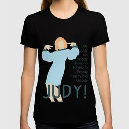 Judy Martin - Name Game w/Judy Lyrics T-shirt