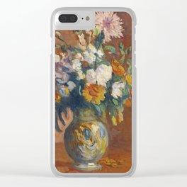 Maximilien Luce 1858 - 1941 BOUQUET OF FLOWERS Clear iPhone Case