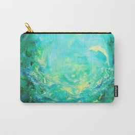 Undersea. Dolphins life Carry-All Pouch