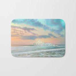 Frozen waves Bath Mat