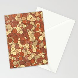 buttons fantasy mustard seed Stationery Cards