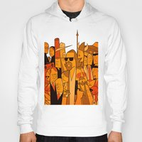 the big lebowski Hoodies featuring The Big Lebowski by Ale Giorgini