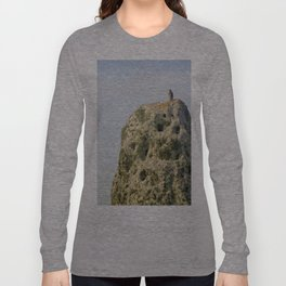 Hanging on a Stone-edge Long Sleeve T-shirt