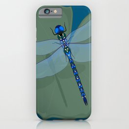 Dragonfly Magic iPhone Case