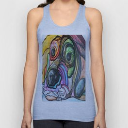 Blue Tick Hound Unisex Tank Top