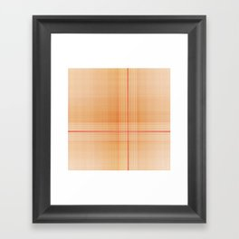Scottish plaid tartan pattern Framed Art Print