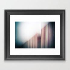Holga photography Framed Art Print