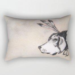 HoundDog Rectangular Pillow