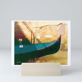 Venetian Gondola Mini Art Print