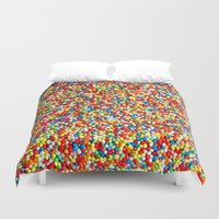 sprinkles Duvet Covers featuring Sprinkles by Rupert & Company