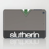 slytherin iPad Cases featuring Slytherin by voldemort