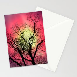 Red Sky At Dawn Stationery Cards