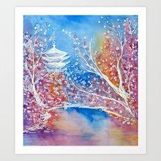 Senso-ji Art Print