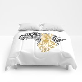 African Tribal Pattern No. 43 Comforters
