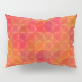 Stained Glass Sunrise Pillow Sham