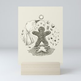 Gingerbread Cosmic Orbit Diagram Mini Art Print