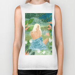 Jungle Vibes Biker Tank