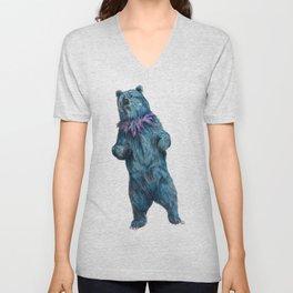 Grateful Live Bear Unisex V-Neck