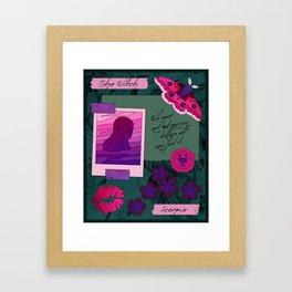 Scorpio II Framed Art Print