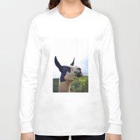 llama Long Sleeve T-shirts featuring Llama by Jimmy Duarte
