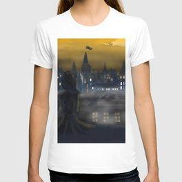 Girl Watching City T-shirt