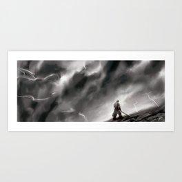 Shattered Plains Art Print