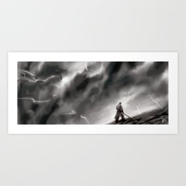 Shattered Plains Art Print