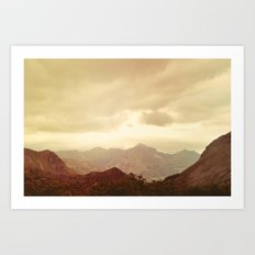 mountains (01) Art Print