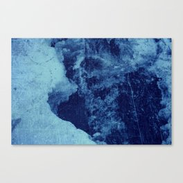 Blue Fury II Canvas Print