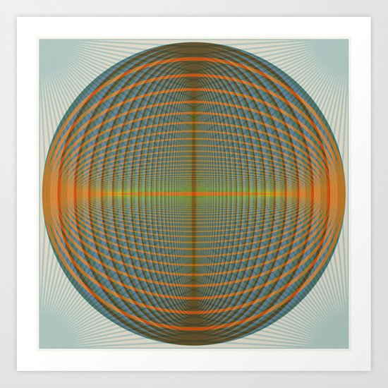 Core 001 Art Print
